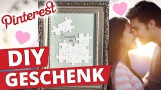 Pinterest DIY Geschenk für Valentinstag - EINFACH, KREATIV und GÜNSTIG! l DIY or DI-Don