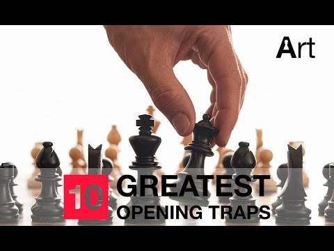 Top 10 greatest opening traps of Grandmaster || Chess Clip # 4.