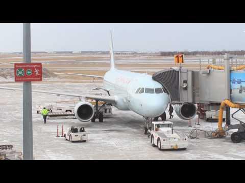 Bad weather spotting at Winnipeg James Armstrong Richardson International Airport