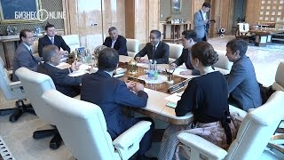 Рустам Минниханов встретился с арабским миллиардером Мохамедом Аль Аббаром