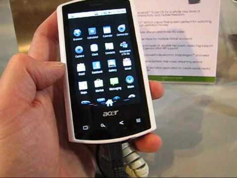 Acer Liquid E running Eclair