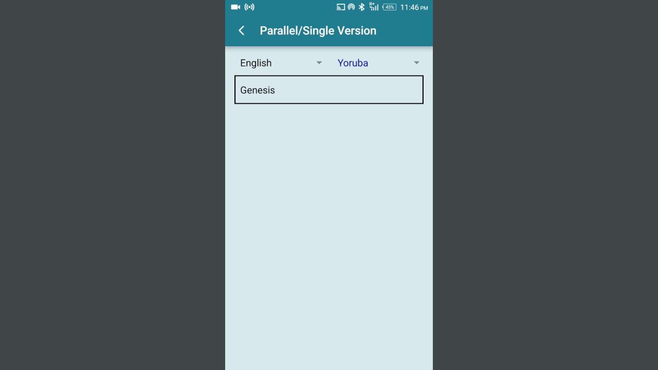 Yoruba audio bible apk