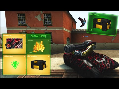 1000 Stars in 19 Hours!! Road to Skin Container | Tanki Online!!