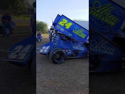 KWS 410 Sprints Peter Murphy Classic Pit Walk*Thunderbowl Raceway 6/8/19