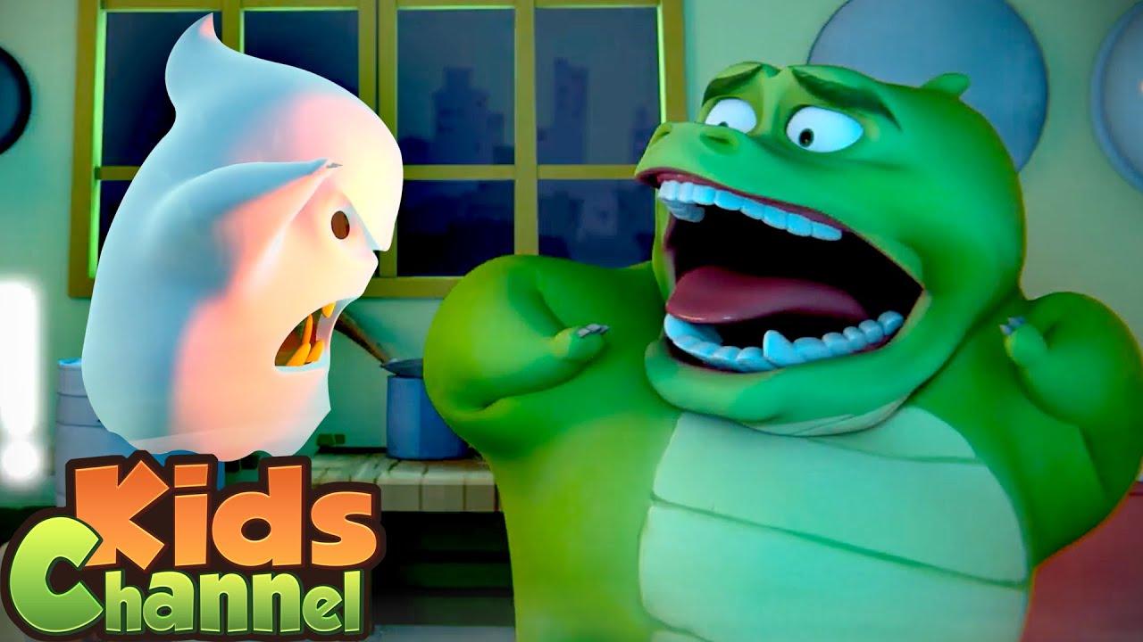 Gob i przyjaciele - Zgaszone światła | Filmy przedszkolne | Seriale animowane | śmieszne kreskówki