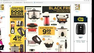 Kohl's Black Friday Online Live