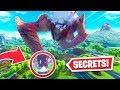 7 SECRETS hidden by Epic in the Robot vs Monster event!