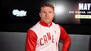 "CANELO BLASTS BILLY JOE SAUNDERS FOR ""EXCUSES"" OVER RING SIZE; REACTS TO NO SHOW OVER FACE OFF"