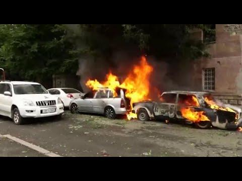 Azerbaijan bombs Artsakh capital - Stepanakert | October 2nd - 4th 2020 | Nagorno-Karabakh