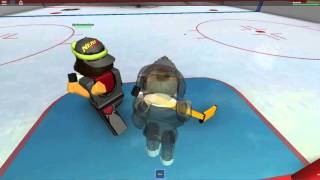 Roblox hockey - MLG SCORING!