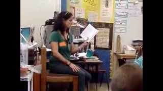 Class Visit: Part 1 reading the Clifton Chase novel