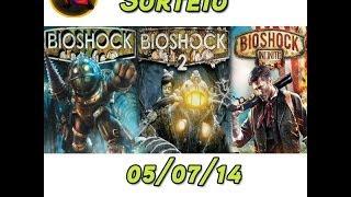 Sorteio Da Semana - Bioshock Triple Pack - PC Steam
