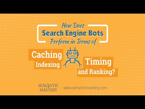 How Does Search Engine Bots Perform in Terms of Caching, Indexing, Timing, and Ranking?
