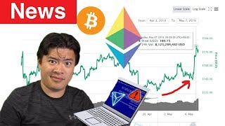 News: Ethereum Pumps! Bitcoin heads to $6000 Resistance. Tron discloses major bug