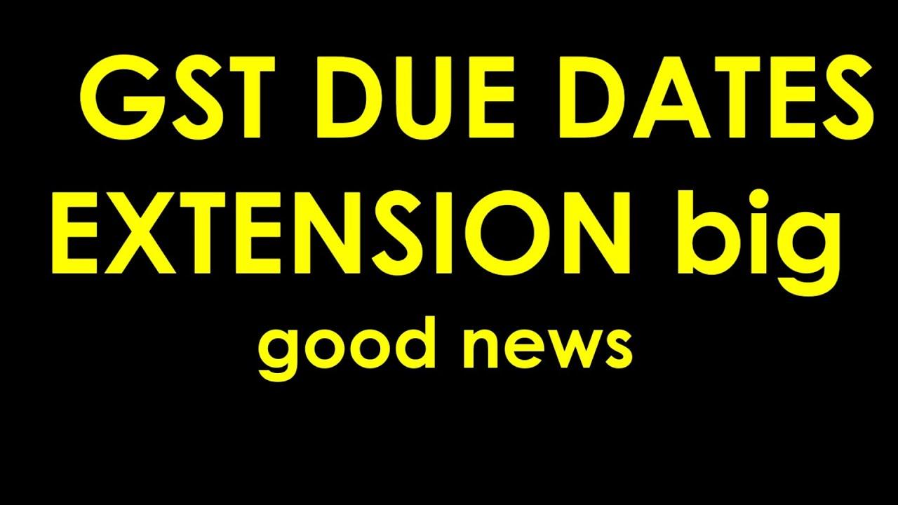 GOOD NEWS GSTR9/9C DUE DATES EXTENSION UPDATE