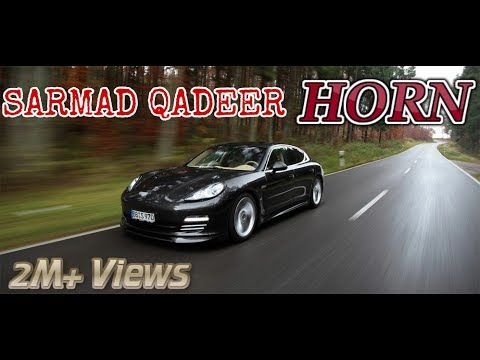 SARMAD QADEER HORN KALI CAR MUSIC VIDEO 2017 LATEST PUNJABI