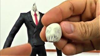 Como Hacer a SLENDERMAN de Plastilina | Making SLENDER MAN in Clay | DibujAme Un