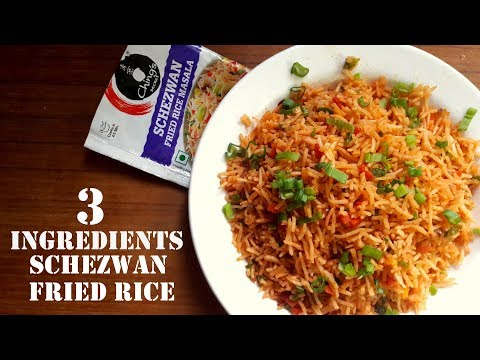 Ching's Schezwan Fried Rice  | Indian Chinese Made Easy | 3 Ingredient Recipe | Indo-Chinese
