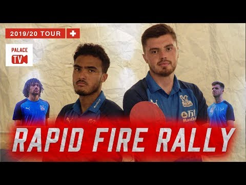 Crystal Palace Rapid Fire Rally Questions | Pre season Switzerland