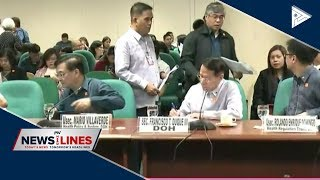 Senate panel hears proposed DOH budget for 2019