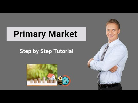 Primary Market - A Complete Beginner's Guide