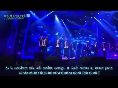 EXO - 좋아좋아 (I like you)  remake + Run Live [Sub español+Rom]