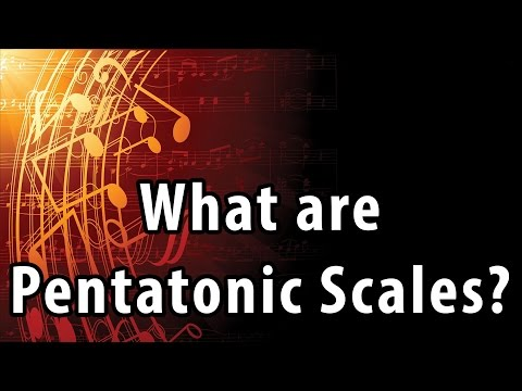 What are Pentatonic Scales? Music Theory Lessons – Robert Estrin
