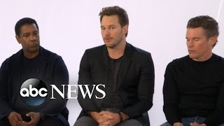 The Magnificent Seven Full Movie Cast Interview