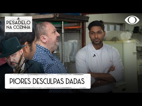 TOP 3: As PIORES DESCULPAS Já Dadas No Pesadelo Na Cozinha