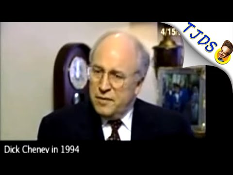 Dick Cheney Predicted Iraq Quagmire He Later Caused