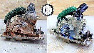 Brick Circular Saw Restoration | Hitachi Circular Saw