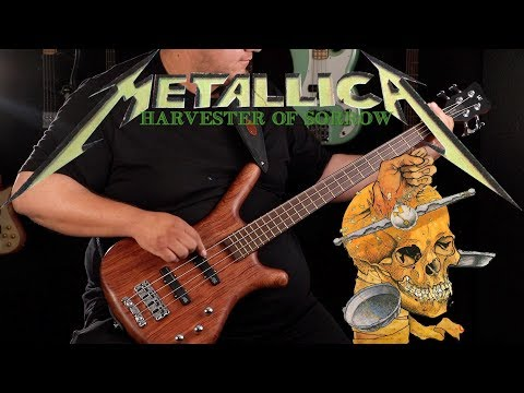 [bass-cover]-metallica---harvester-of-sorrow