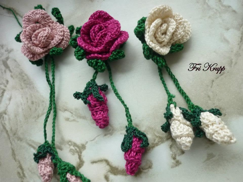 ... delicadas, botao e folha tudo em croche. flor em croche - YouTube