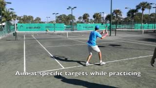 The Importance of Targets for Return of Serve Practice (Your Return - Episode 23)