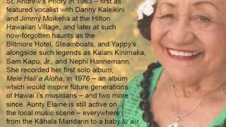 CD Snippet #2 Kaipo Asing, Elaine Ako Spencer, Ocean Kaowili, Malala McMoore and Wehilani Ching.