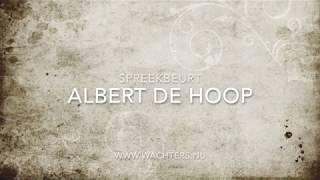Spreekbeurt Albert de Hoop – Waalwijk (9 december 2017)