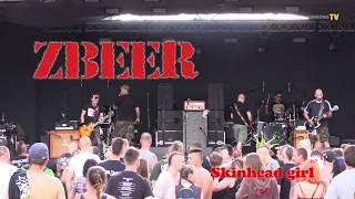Zbeer -  Skinhead girl - Rock na Bagnie '18