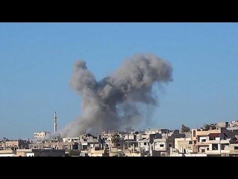 Rusya Rakka'nın yanısıra Deraa'yı da vurdu
