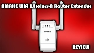 amake wifi wireless n router extender review