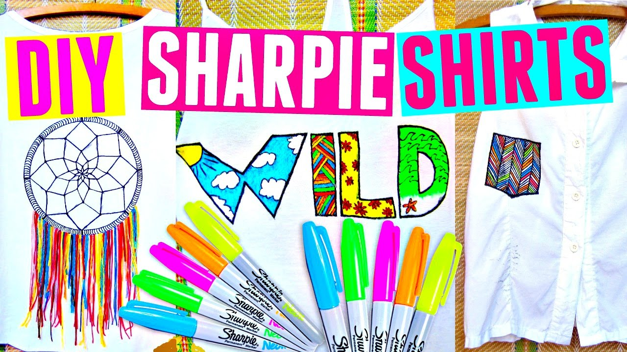 05a97934b DIY SHARPIE SHIRTS | DIY Clothes for Summer - YouTube