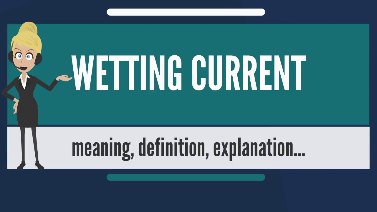What Is Wetting Current Does Mean Sensing Relay Wiki Meaning Explanation