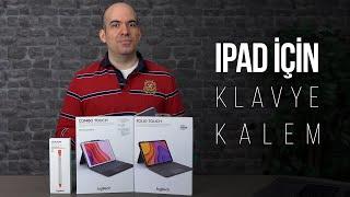 iPad'ler için Logitech Folio, Combo Touch ve Crayon kalem