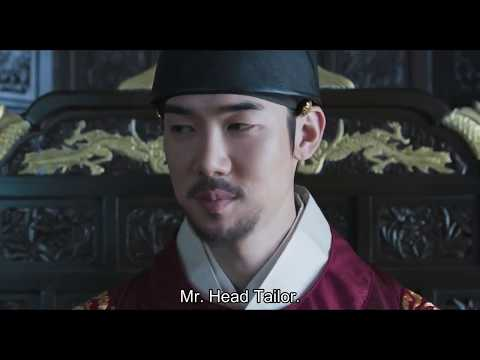 Royal Tailor Yoo Yeon Seok as the newly appointed King scene