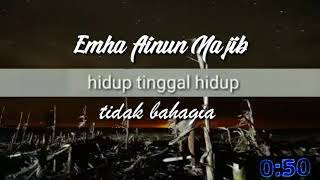 Quotes caknun ,cocok buat story wa