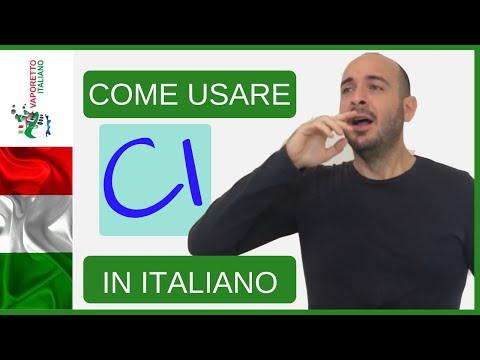 Come Usare CI In Italiano | Impara L'italiano Con Francesco