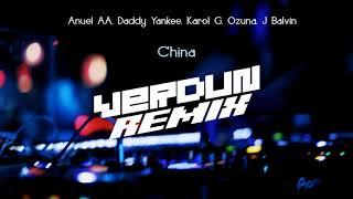 Anuel AA, Daddy Yankee, Karol G, Ozuna, J Balvin - China (Verdun Remix)