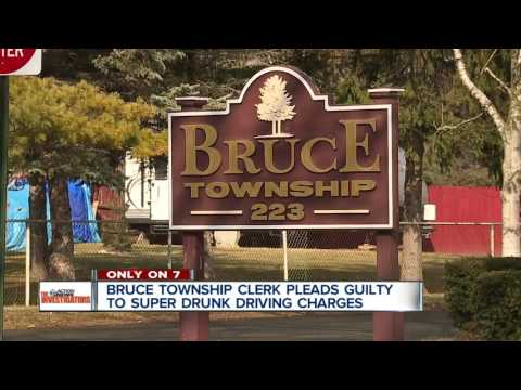 Metro Detroit township clerk pleads guilty to driving while 'super drunk'