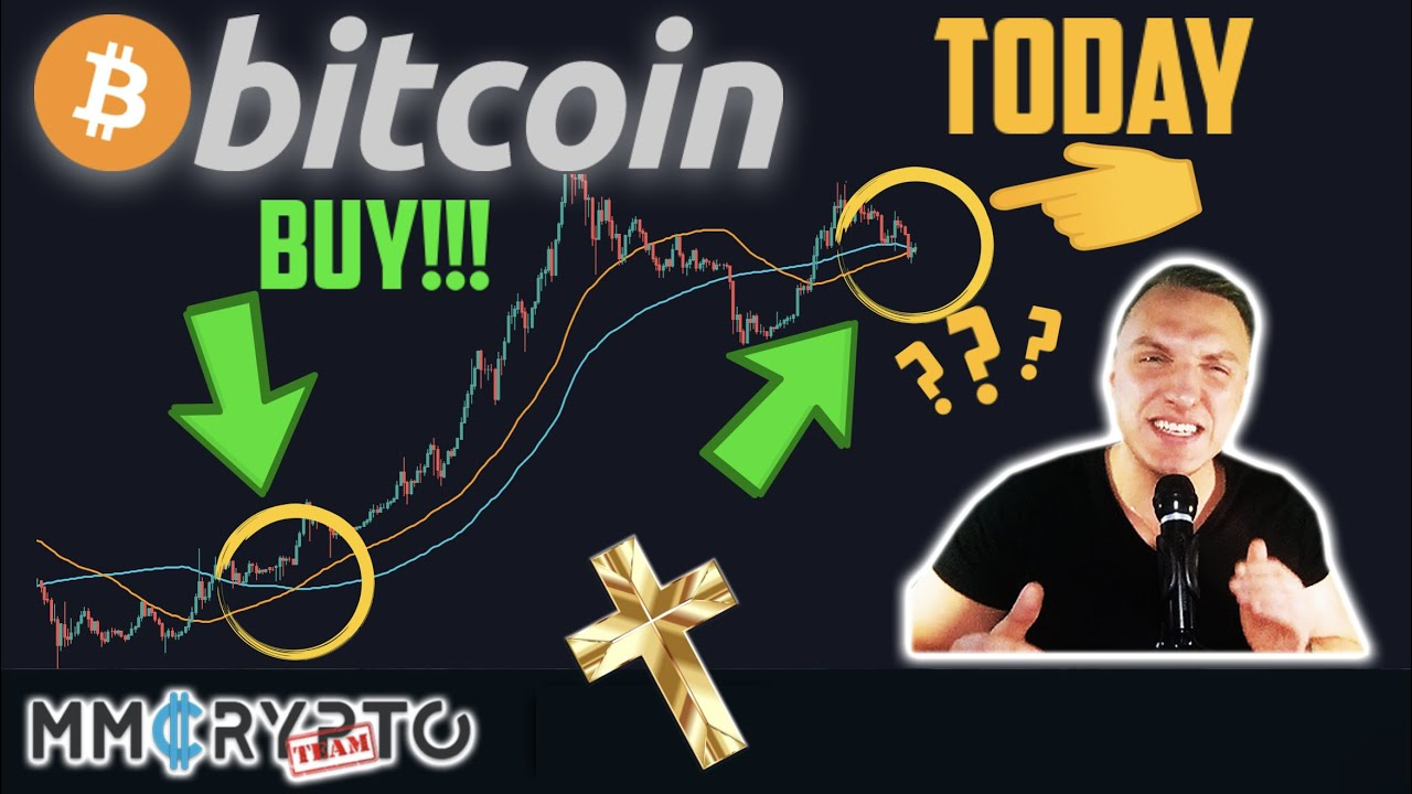TODAY BITCOIN's MOST IMPORTANT GOLDEN CROSS WILL FIRE!! Will BTC History Repeat??!