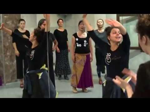 Maria Moreno Clases de Flamenco en Academia Manuel Betanzos