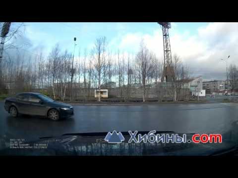 Оленегорск, чуть не сбил